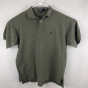 Polo by Ralph Lauren grey men's golf polo xl
